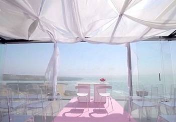 arriba by the sea wedding in portugal